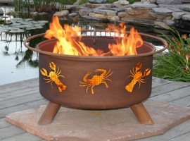 Lobsters & Crabs Fire Pit