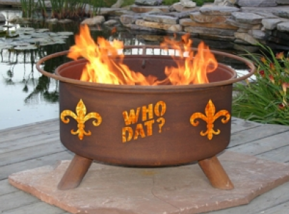 F205 - Who Dat Fire Pit