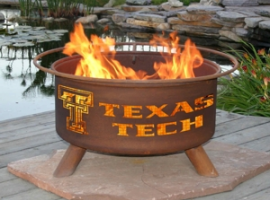 F233 - Texas Tech Fire Pit