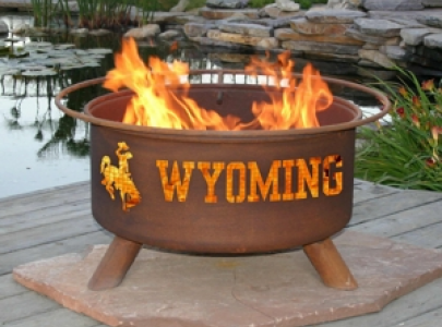 F236 - U of Wyoming Fire Pit