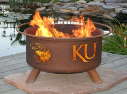 F239 - U of Kansas Fire Pit