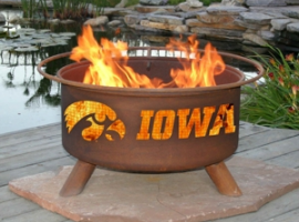 F241 - U of Iowa Fire Pit