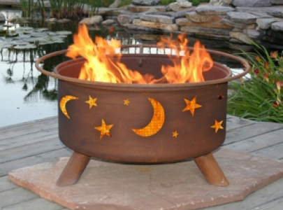 F100 - Evening Sky Fire Pit